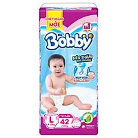 Tã Dán Bobby Fresh Siêu Mỏng Gói Đại L42 (42...