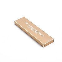 USB 3.1 Type-C to NGFF M.2 SSD  128G Hard Disk Box External HDD Enclosure Case for Mobile Hard Drive Storage Devices PC