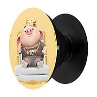 Popsocket in hình dành cho điện thoại Mẫu Heo Vua