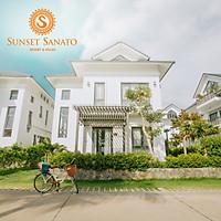 Gói 3N2Đ Sunset Sanato Resort 4* Phú Quốc - Buffet Sáng, Xe Đón Tiễn Sân Bay, Hồ Bơi, Bãi Biển Riêng, Check In Thoải Thích Điểm Ngắm Hoàng Hôn Đẹp Nhất Đảo Ngọc