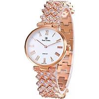Đồng hồ nữ chính hãng Royal Crown 2601 dây đá vỏ vàng hồng