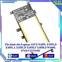 Pin dành cho Laptop ASUS X455L F455LD X455LA X455LD X455LF X455LJ W409L 37wh C21N1401 - Hàng Nhập Khẩu