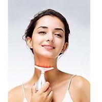 Máy Massage kéo căng bằng điện siêu âm, dụng cụ nâng cơ, giảm nhăn, tái tạo collagen chống chảy xệ làm đẹp da chuyên vùng cổ, tráng và mặt + Tặng Máy Massage Cầm Tay Nâng Cơ Mặt 3D Giảm Stress