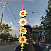 5 Dây treo trang trí tết hoa mai A23