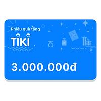 Phiếu Quà Tặng Tiki 3.000.000đ