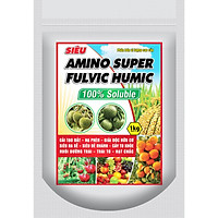 Phân bón hữu cơ : Amino Super Fulvic Humic