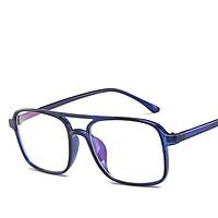 Men Women Glasses Clear Lens Retro Square Full Frame Fashion Goggle Eyeglasses