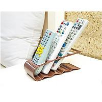 Khay đựng remote tivi, điều khiển máy lạnh đa năng 4 in 1- Kệ đựng remote 18.5 * 7 * 6.5cm+ Tặng kèm hình dán ngẫu nhiên