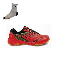 Giày cầu lông Promax PR19002 hàng chính hãng, dành cho nam và nữ - Tặng kèm tất Bendu chính hãng
