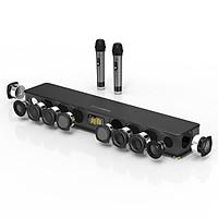 Bộ sản Phẩm Hát Karaoke Hoàn Hảo Cho Gia Đình Loa SoundBar 5.1 Bluetooth JY AUDIO 300K Tặng Kèm 2 Không Dây Cao Cấp
