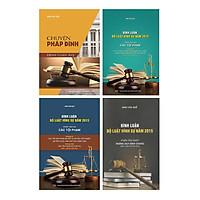 Combo Bình Luận Bộ Luật Hình Sự 2015 (4 Cuốn)