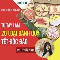 Khóa học PHONG CÁCH SỐNG- Tự tay làm 20 loại bánh quy Tết độc đáo UNICA.VN