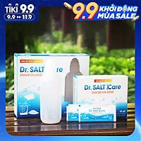 Bình rửa mũi Dr Salt Kare|1 bình kèm 30 gói muối nhập khẩu New Zealand| Rửa mũi cho bé và người lớn| hỗ trợ điều trị viêm mũi, sổ mũi, viêm mũi dị ứng, viêm xoang