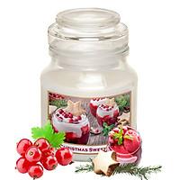 Hũ nến thơm tinh dầu Bartek Christmas Sweetness 130g QT06654 - nho chuỗi ngọc