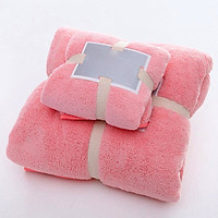Combo 2 ( 1 Khăn tắm +1 khăn mặt ), chất liệu cao cấp siêu thấm 8700143