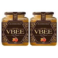 Combo 2 lọ Mật ong hoa rừng Tây Bắc VBEE (1000ml)