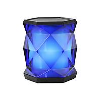 Loa bluetooth mini A5 ánh đèn pha lê đẹp mắt nhỏ gọn nhẹ tiện đem theo âm thanh chất lượng âm bass - Hàng chính hãng
