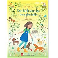 Sticker Dolly Dressing - Dán Hình Sáng Tạo Trang Phục Búp Bê - Cún Con