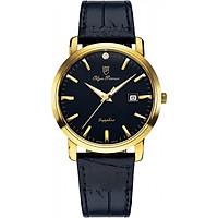 Đồng hồ nam dây da Olym Pianus OP130-06MK-GL đen