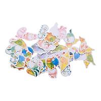Sticker Dán Trang Trí Nhật Bản - Chim (70 Miếng)