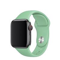 Dây đeo silicone cao cấp cho Apple Watch màn hình 42/44mm (Mọi series- Hàng nhập khẩu)