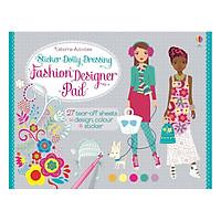 Usborne Sticker Dolly Dressing Fashion Designer Pad