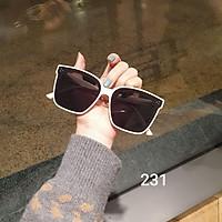 Kính mát mắt vuông bản to chống tia UV, Kính râm mát nữ thời trang cá tính 3 màu lựa chọn 231