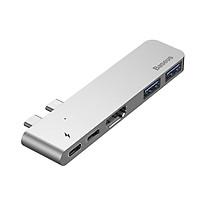 Bộ Hub chuyển đổi 5 trong 1 dành cho Macbook CAHUB-B0G - Hàng nhập khẩu