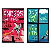 Combo 2 Cuốn Tiểu Thuyết Đình Đám Nhất Của Jonas Jonasson: Anders Sát Thủ Cùng Bè Lũ + Ông Trăm Tuổi Trèo Qua Cửa Sổ Và Biến Mất (Bộ Sách Ăn Khách Nhất Tại Thụy Điển / Tặng Kèm Bookmark Happy Life)