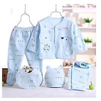 Set đồ cho bé sơ sinh (Giao màu ngẫu nhiên)