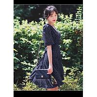 Đầm bi xanh