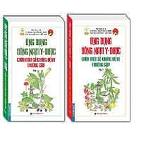 Sách - Combo ứng dụng đông nam y - dược chữa một số chứng bệnh thường gặp (2 cuốn )