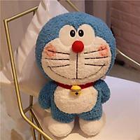 Gấu bông hình chú mèo máy đôrêmon trong phim hoạt hình doraemon nổi tiếng