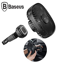 Quạt xếp gắn lưng ghế ô tô tích hợp pin thương hiệu Baseus CXZR-01 - Dung lượng pin: 1000mAh - Chất liệu: Nhựa ABS+PC - Hàng Nhập Khẩu