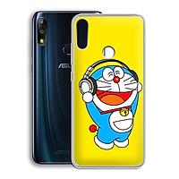 Ốp lưng dẻo cho điện thoại Zenfone Max Pro M2 - 01219 7863 DRM07 - In hình Doremon - Hàng Chính Hãng