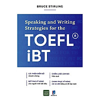 Sách - Spearking and writing strategies for the TOEFL IBT