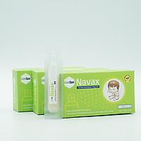 combo 3 hộp kèm xịt bào tử lợi khuẩn Lợi khuẩn Livespo Navax vệ sinh và ngừa viêm tai, mũi, họng bảo vệ và phục hồi niêm mạc mũi của trẻ