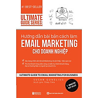 Sách Hướng dẫn bài bản cách làm Email Marketing cho doanh nghiệp | Tặng kèm khóa học