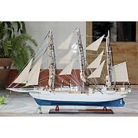 Mô hình thuyền buồm gỗ phong thủy trang trí Christian Radich Dài 97cm (hàng cao cấp, không lắp ráp)