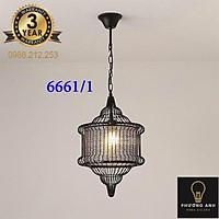 Đèn thả bàn ăn phong cách vintage cổ điển trang trí phòng bếp nội thất mã 6661/1