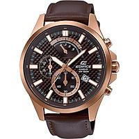 Đồng hồ nam dây da Casio Edifice chính hãng EFV-530GL-5AVUDF