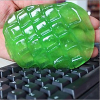 5 miếng dẻo silicon làm sạch bàn phím, thiết bị xe hơi - màu ngẫu nhiên
