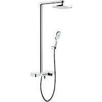 Sen bộ tắm đứng nóng lạnh Eurolife EL-SC907 (Trắng bạc)