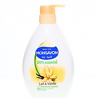 Sữa Tắm Monsavon Chiết Xuất Sữa & Hoa Vani (500ML)