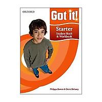 Got it! Starter Student Book/Workbook with CD-ROM
