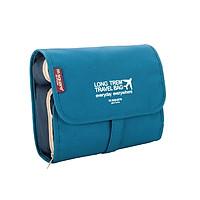 Túi Đựng Đồ Trang Điểm Du Lịch Bag In Bag (Xanh dương) Msquare Nhật Bản Chính Hãng DMCDL018