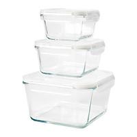 Set hộp thủy tinh đựng thực phẩm 3 size