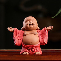 Tượng Phật Di Lạc Đứng Dang Tay ( Tam Thế)