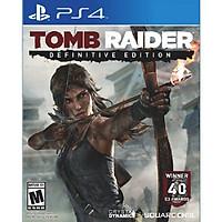 Đĩa Game Ps4: TombRaider Definitive Edition - Hàng nhập khẩu