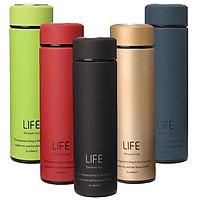 Bình giữ nhiệt inox LIFE , Chất liệu cao cấp, Sang Trọng, An toàn.